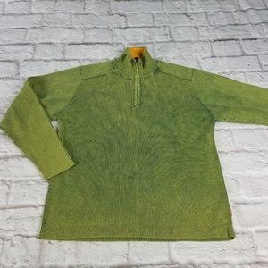 Levi Strauss green Medium pullover sweater